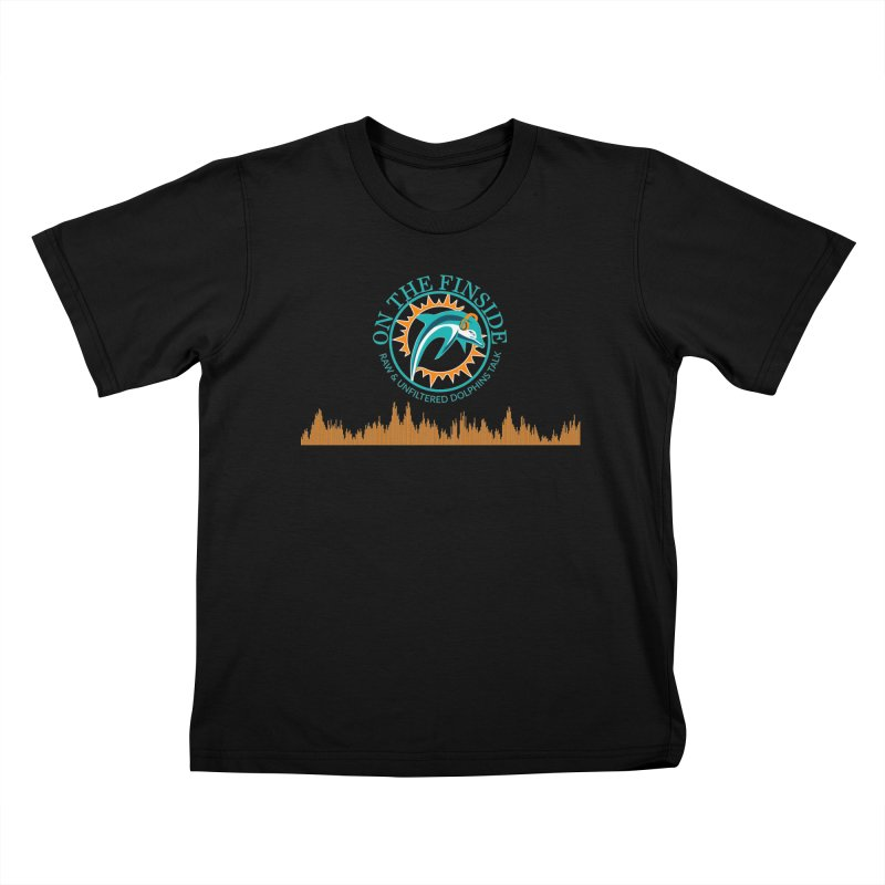 Aqua Bullet Kids T-Shirt by On The Fin Side's Artist Shop
