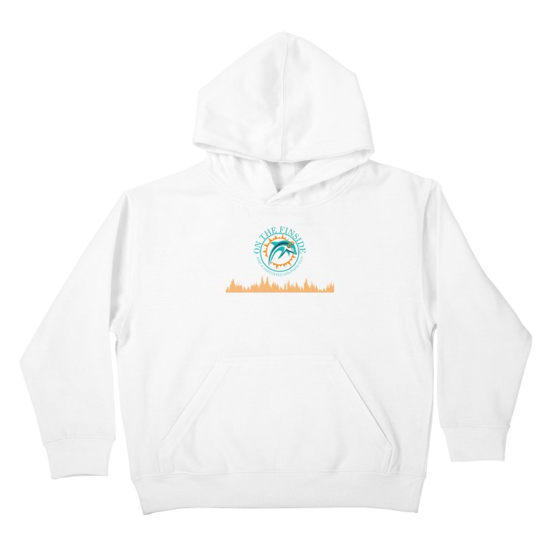 Aqua Bullet Kids Pullover Hoody by On The Fin Side's Artist Shop