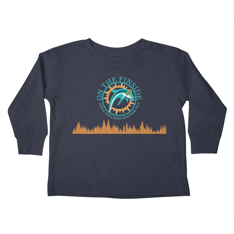 Aqua Bullet Kids Toddler Longsleeve T-Shirt by On The Fin Side's Artist Shop