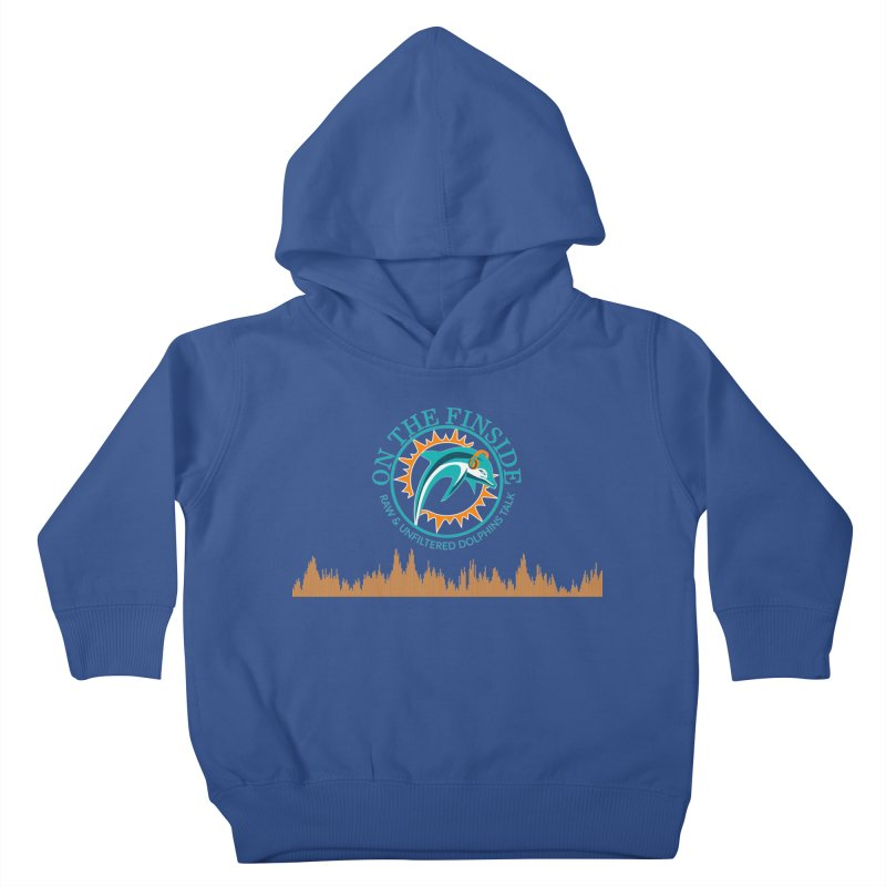 Aqua Bullet Kids Toddler Pullover Hoody by On The Fin Side's Artist Shop