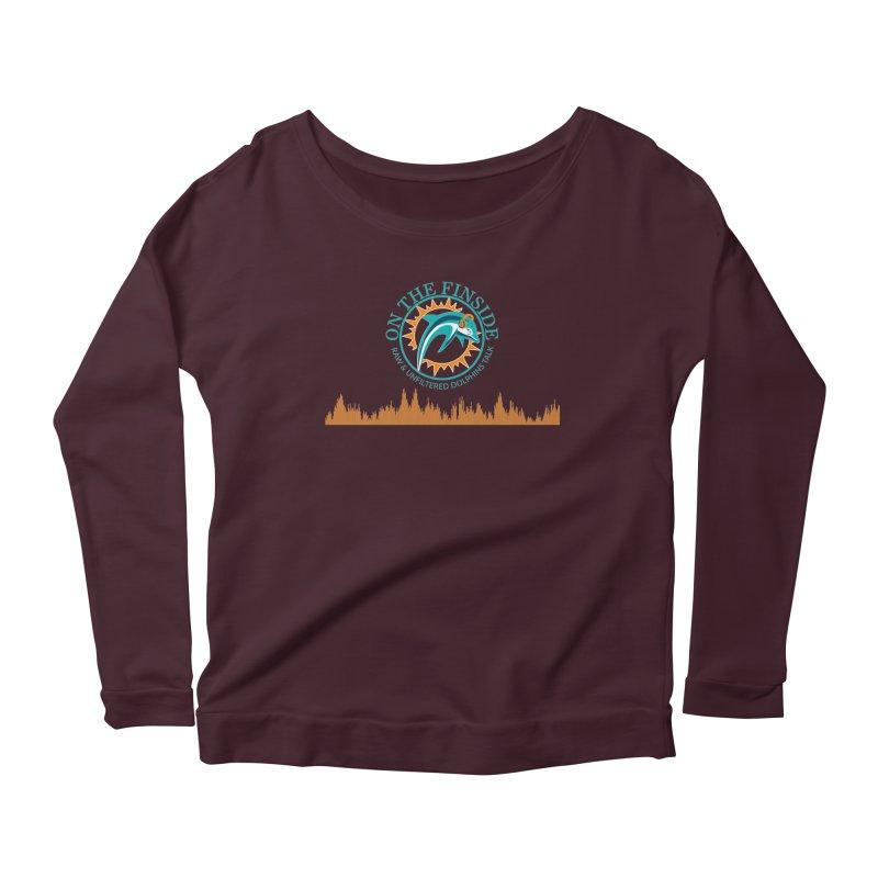 Aqua Bullet Women's Longsleeve T-Shirt by On The Fin Side's Artist Shop