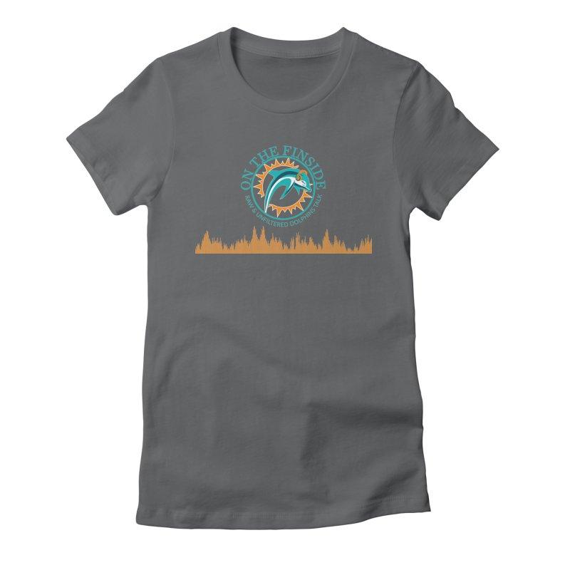 Aqua Bullet Women's T-Shirt by On The Fin Side's Artist Shop