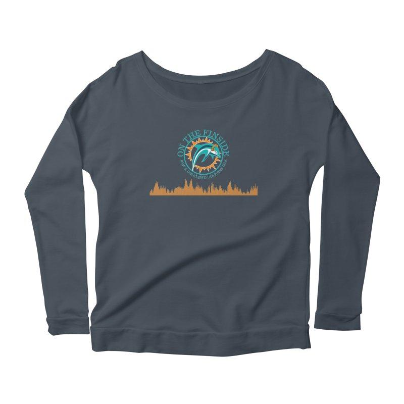 Aqua Bullet Women's Scoop Neck Longsleeve T-Shirt by OnTheFinSide's Artist Shop