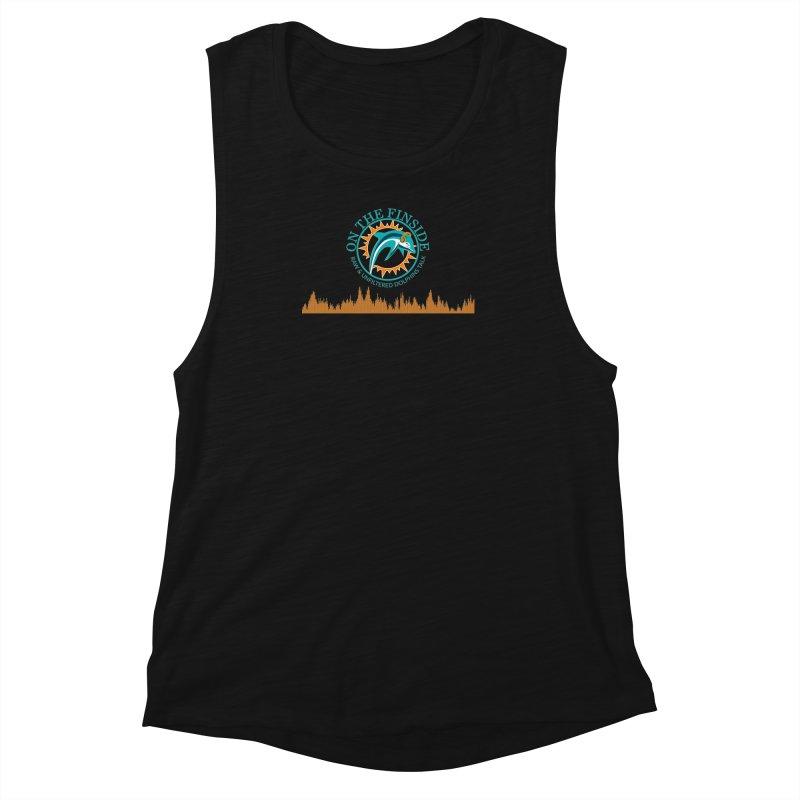 Aqua Bullet Women's Muscle Tank by OnTheFinSide's Artist Shop