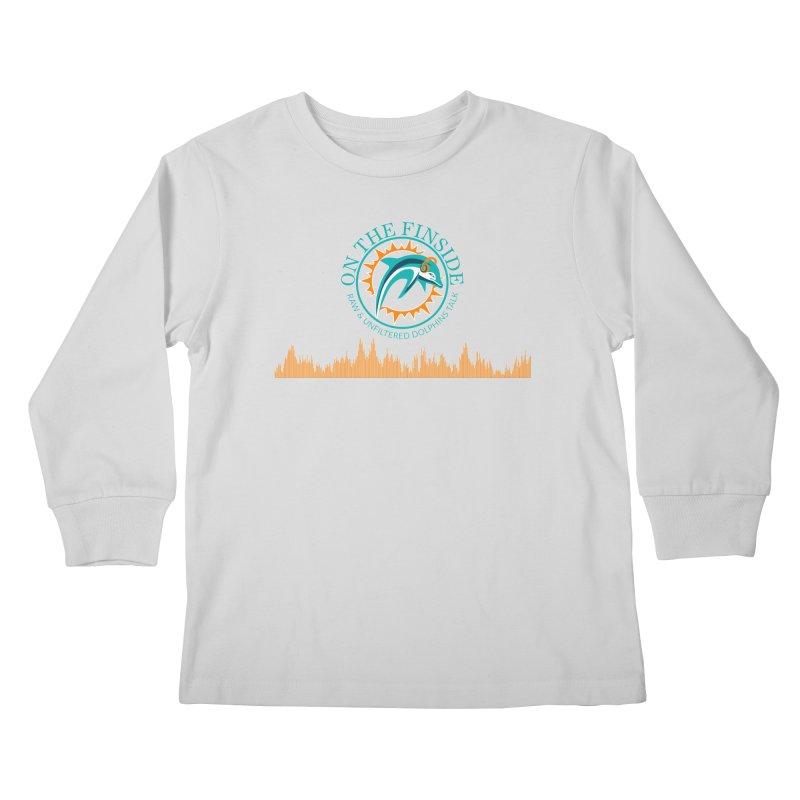 Aqua Bullet Kids Longsleeve T-Shirt by On The Fin Side's Artist Shop