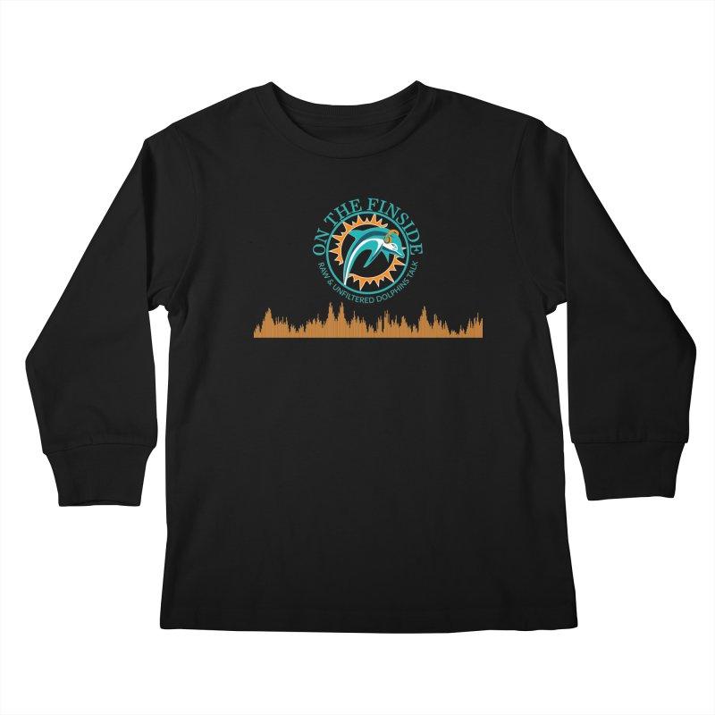 Aqua Bullet Kids Longsleeve T-Shirt by OnTheFinSide's Artist Shop