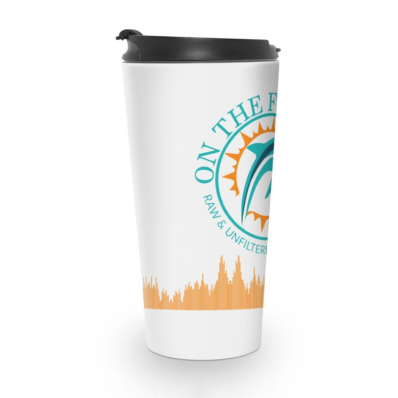 Aqua Bullet Accessories Travel Mug by On The Fin Side's Artist Shop
