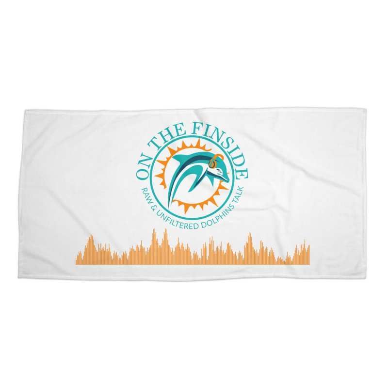 Aqua Bullet Accessories Beach Towel by OnTheFinSide's Artist Shop