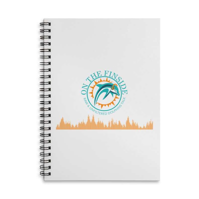 Aqua Bullet Accessories Notebook by On The Fin Side's Artist Shop
