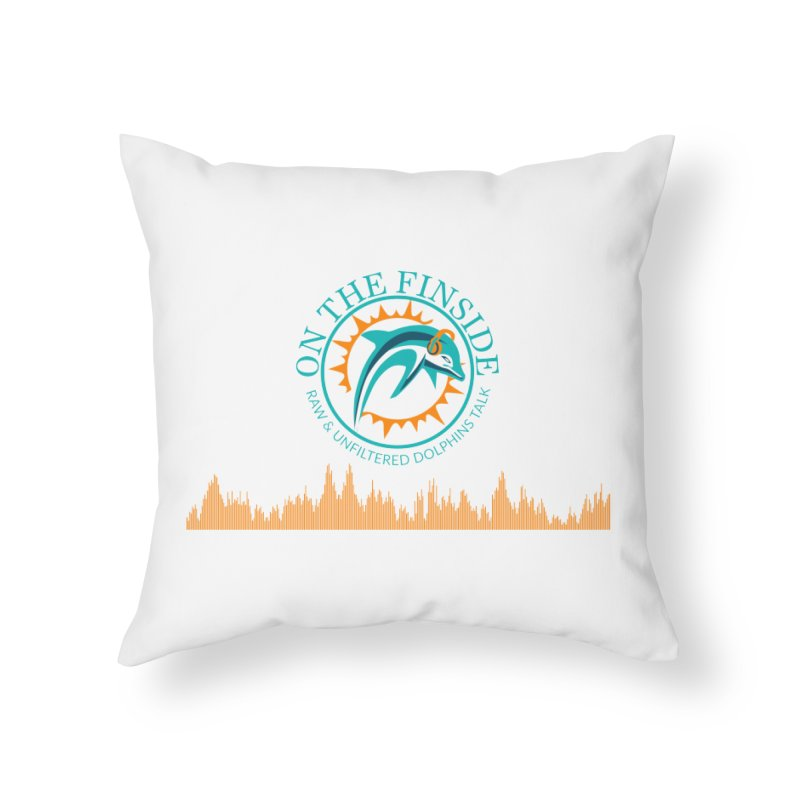 Aqua Bullet Home Throw Pillow by On The Fin Side's Artist Shop