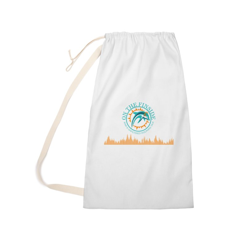Aqua Bullet Accessories Laundry Bag Bag by On The Fin Side's Artist Shop