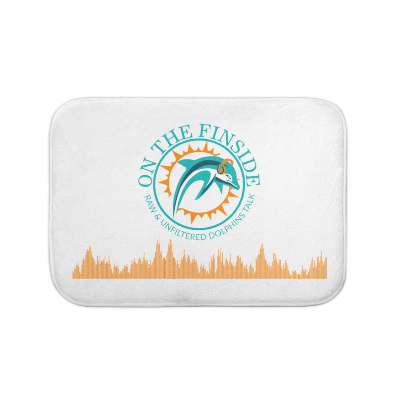 Aqua Bullet Home Bath Mat by OnTheFinSide's Artist Shop