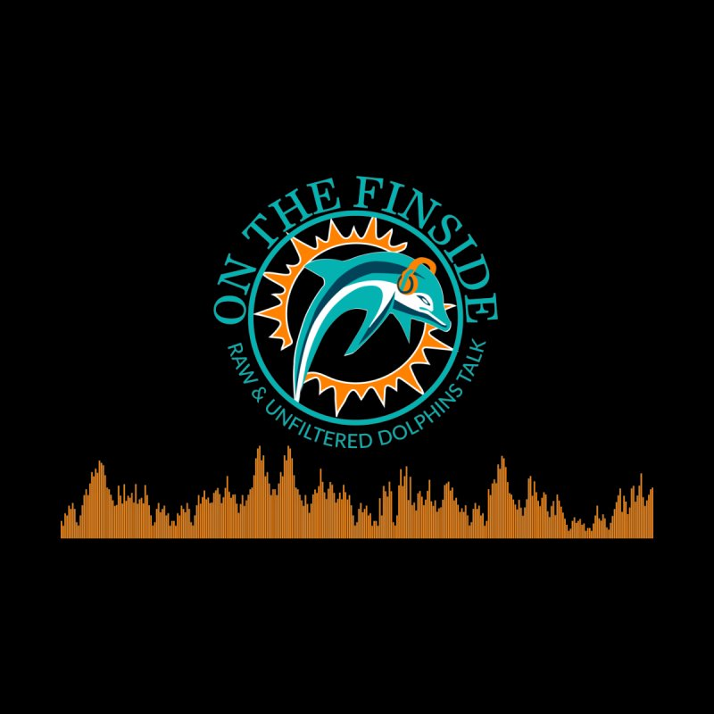 Fired up Fins Glow Men's V-Neck by On The Fin Side's Artist Shop