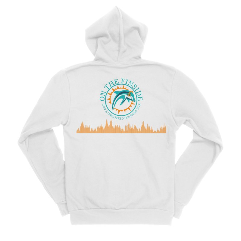 Fired up Fins Glow Men's Zip-Up Hoody by On The Fin Side's Artist Shop