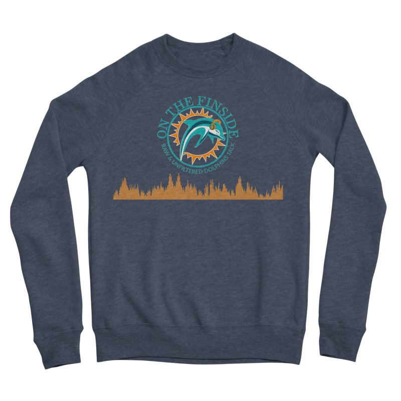 Fired up Fins Glow Women's Sweatshirt by On The Fin Side's Artist Shop