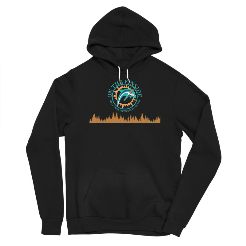 Fired up Fins Glow Men's Pullover Hoody by On The Fin Side's Artist Shop
