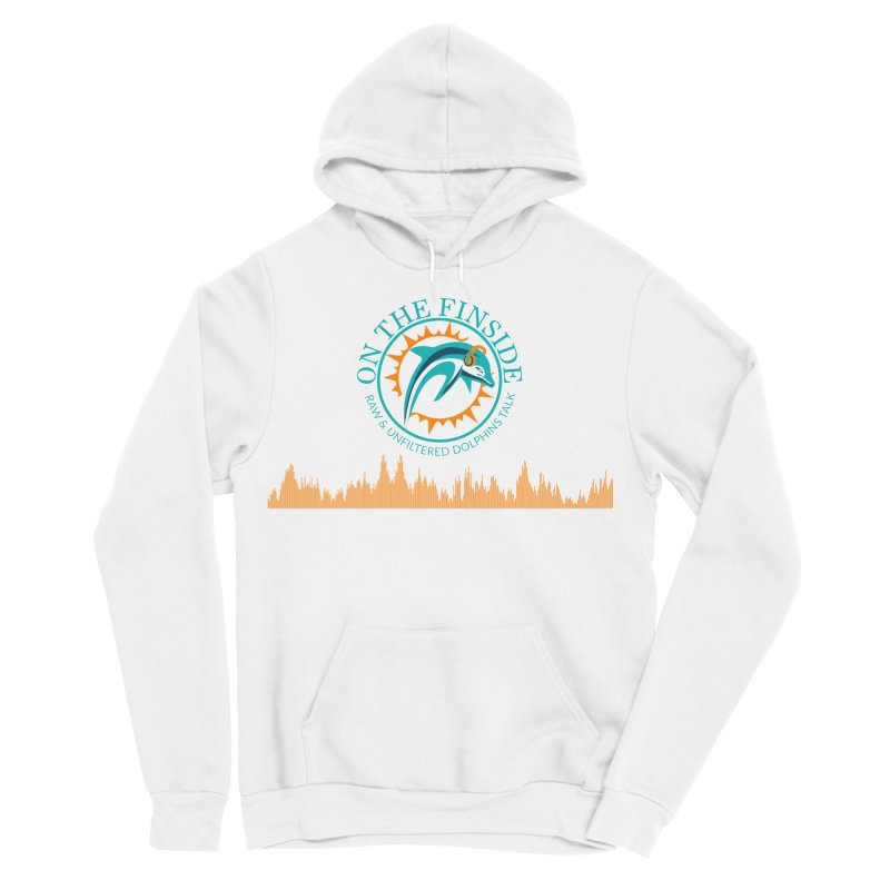 Fired up Fins Glow Women's Sponge Fleece Pullover Hoody by OnTheFinSide's Artist Shop
