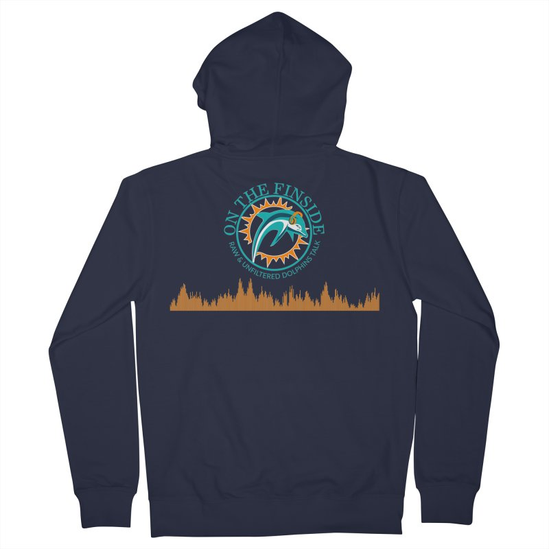 Fired up Fins Glow Women's Zip-Up Hoody by On The Fin Side's Artist Shop