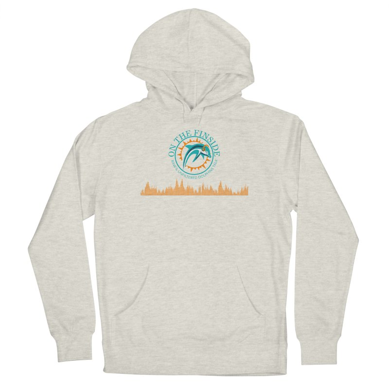 Fired up Fins Glow Women's Pullover Hoody by On The Fin Side's Artist Shop
