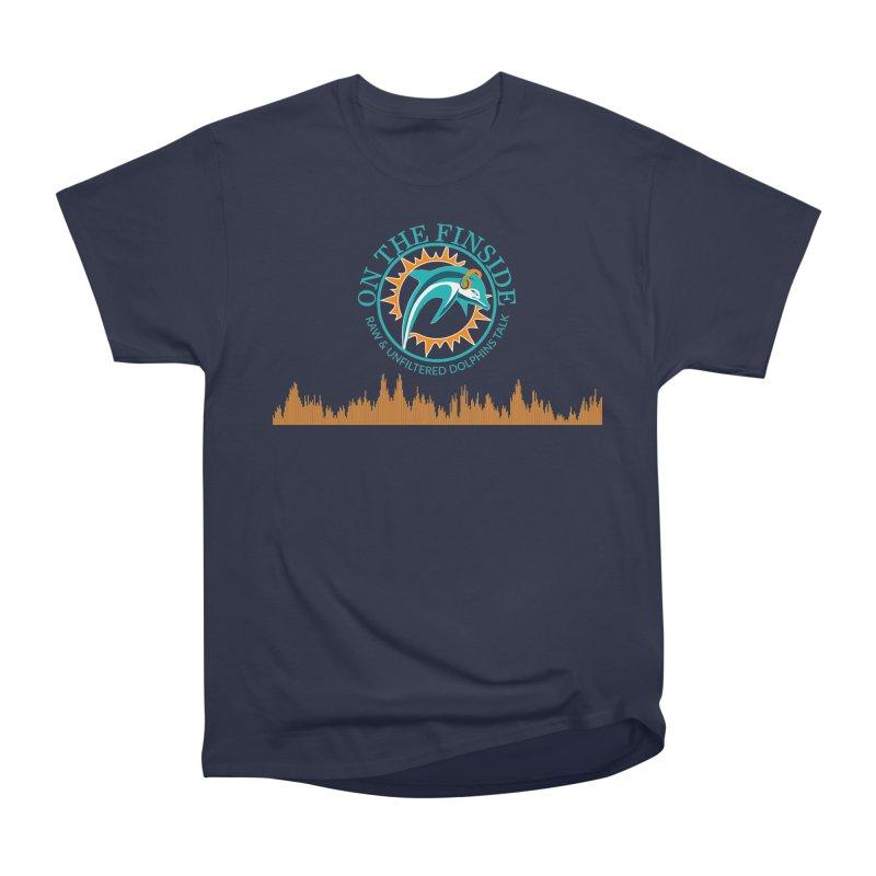Fired up Fins Glow Women's Heavyweight Unisex T-Shirt by OnTheFinSide's Artist Shop