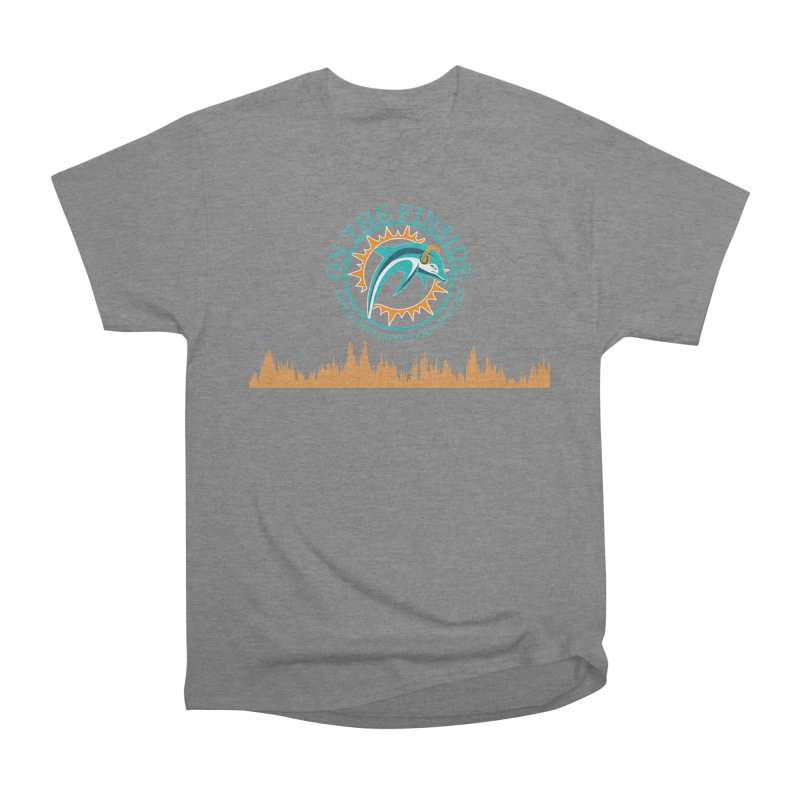Fired up Fins Glow Women's Heavyweight Unisex T-Shirt by On The Fin Side's Artist Shop