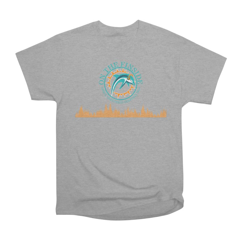 Fired up Fins Glow Women's Heavyweight Unisex T-Shirt by On The Fin Side's Artist Shop