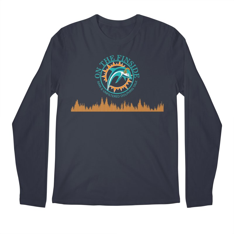 Fired up Fins Glow Men's Regular Longsleeve T-Shirt by On The Fin Side's Artist Shop