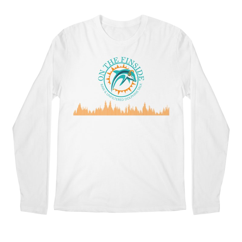 Fired up Fins Glow Men's Regular Longsleeve T-Shirt by OnTheFinSide's Artist Shop