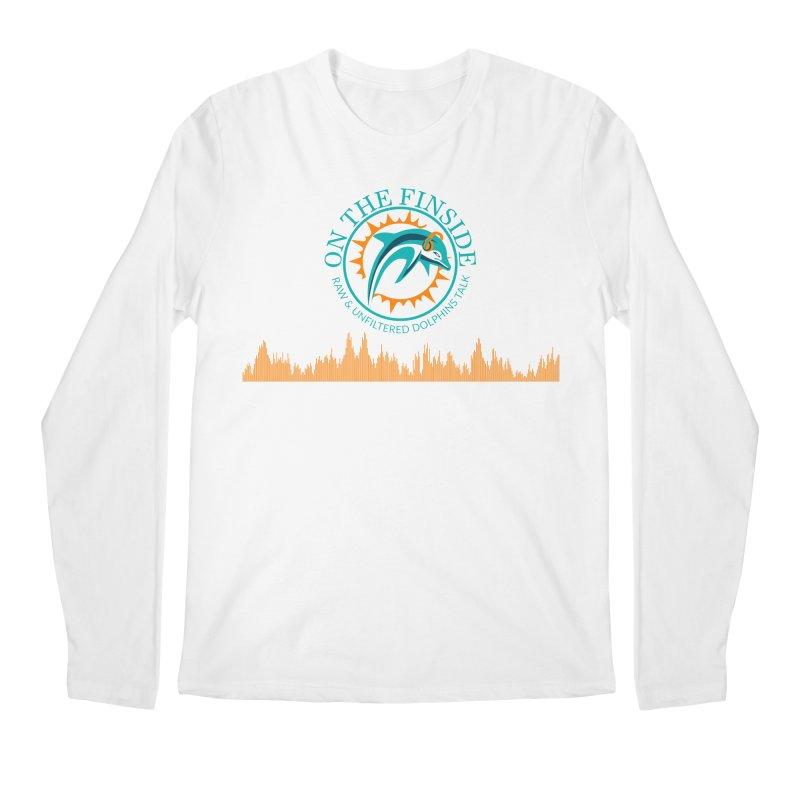 Fired up Fins Glow Men's Regular Longsleeve T-Shirt by On The Fin Side's Artist Shop