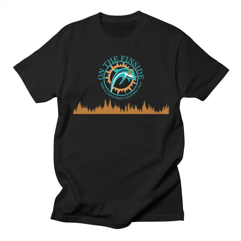 Fired up Fins Glow Women's Regular Unisex T-Shirt by On The Fin Side's Artist Shop