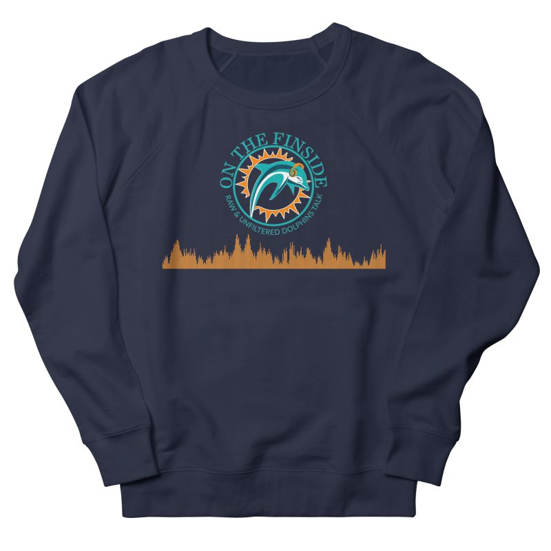 Fired up Fins Glow Men's Sweatshirt by On The Fin Side's Artist Shop