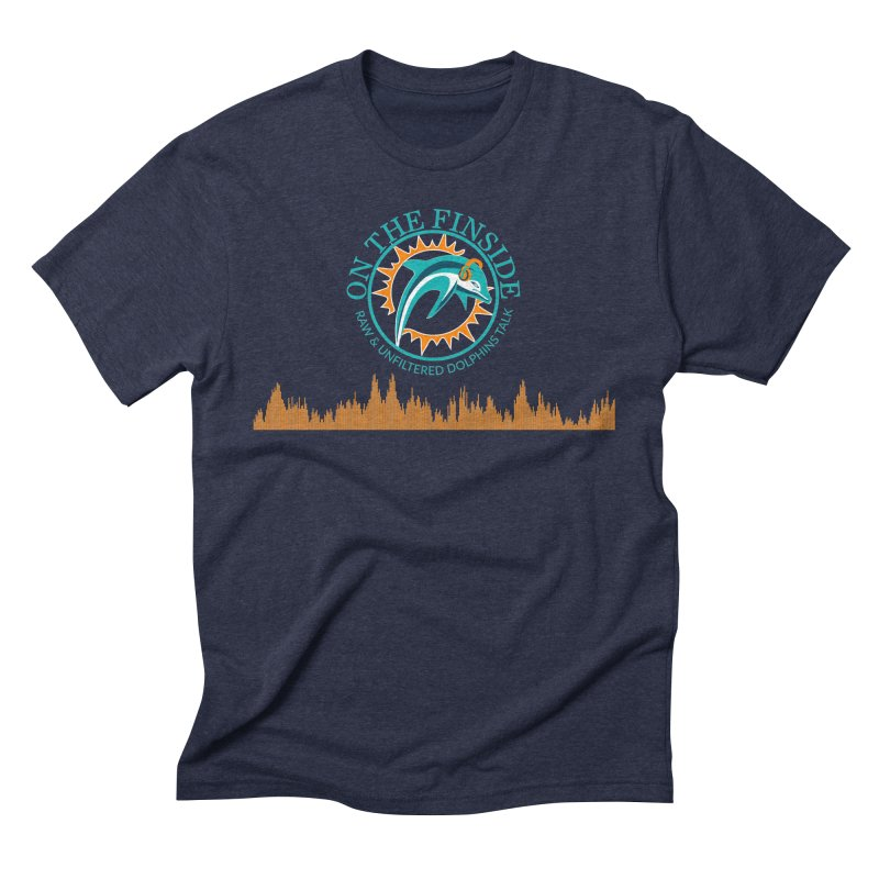 Fired up Fins Glow Men's Triblend T-Shirt by On The Fin Side's Artist Shop