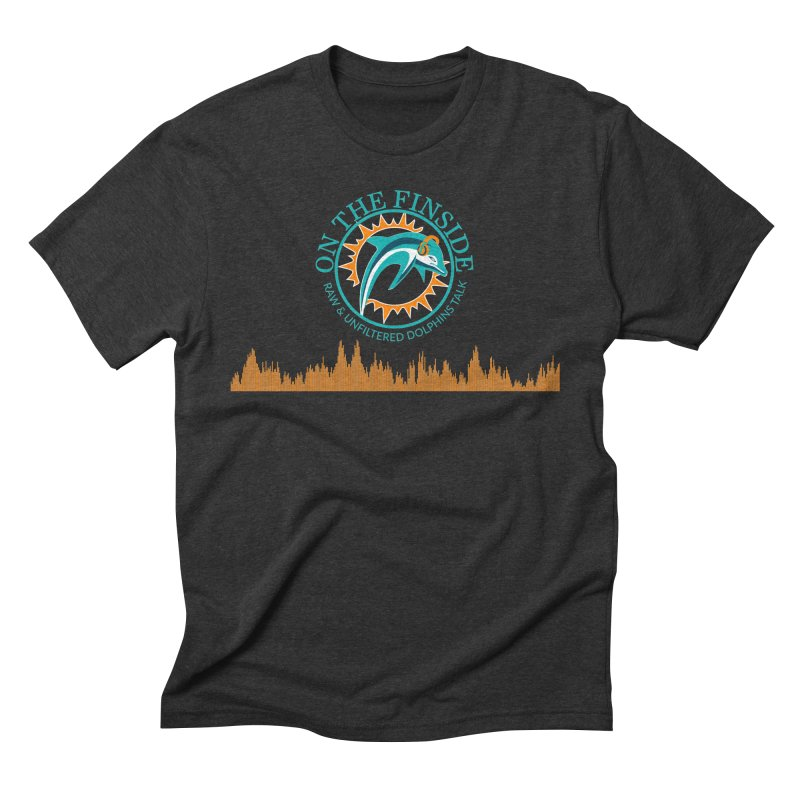 Fired up Fins Glow Men's T-Shirt by On The Fin Side's Artist Shop