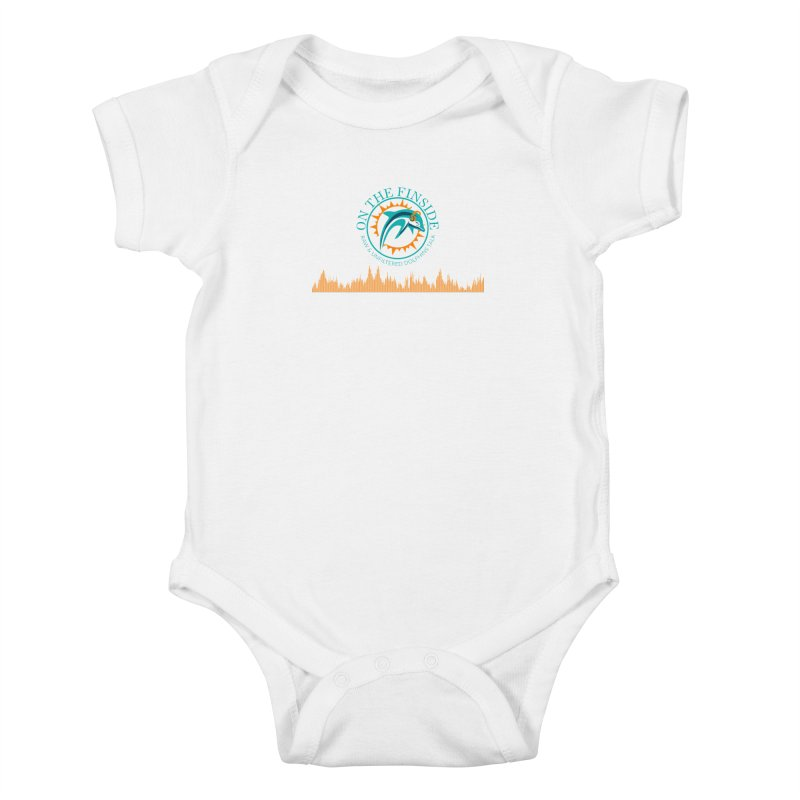 Fired up Fins Glow Kids Baby Bodysuit by On The Fin Side's Artist Shop