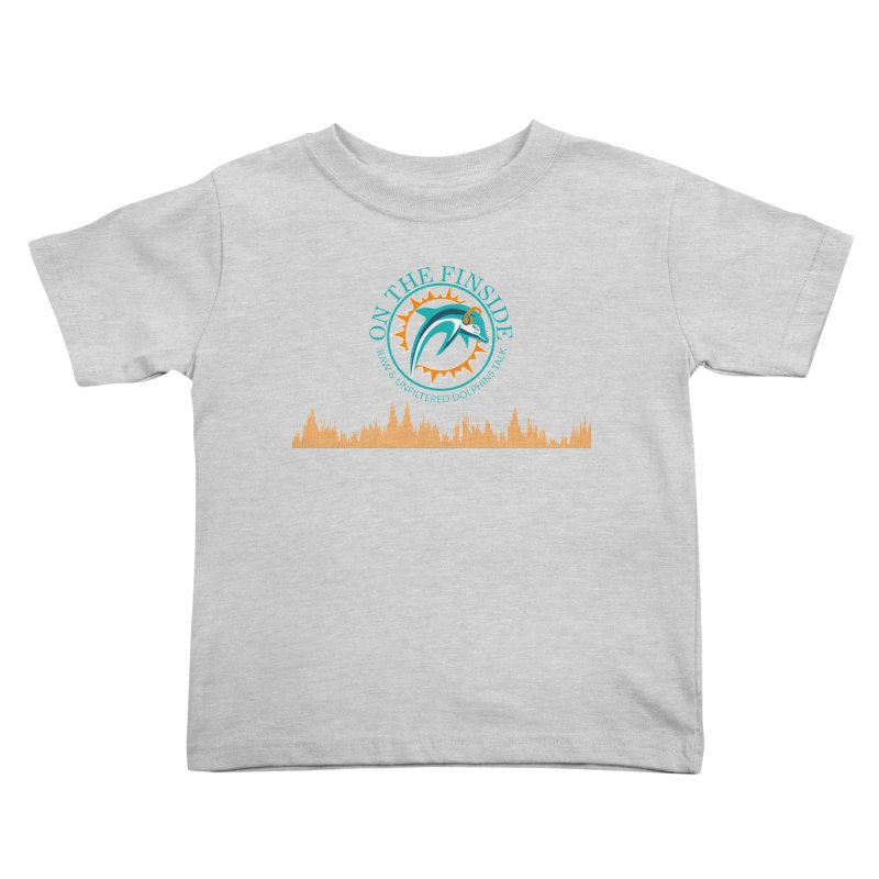 Fired up Fins Glow Kids Toddler T-Shirt by On The Fin Side's Artist Shop