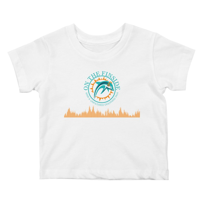Fired up Fins Glow Kids Baby T-Shirt by On The Fin Side's Artist Shop