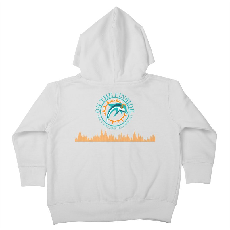 Fired up Fins Glow Kids Toddler Zip-Up Hoody by On The Fin Side's Artist Shop