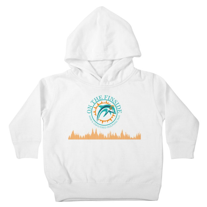 Fired up Fins Glow Kids Toddler Pullover Hoody by On The Fin Side's Artist Shop