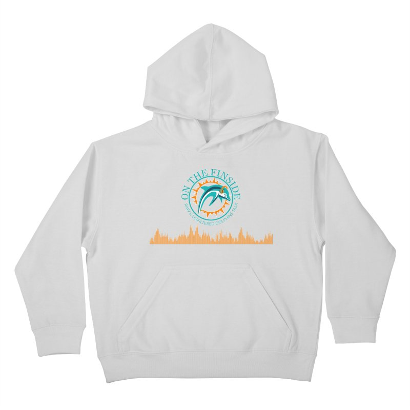 Fired up Fins Glow Kids Pullover Hoody by On The Fin Side's Artist Shop