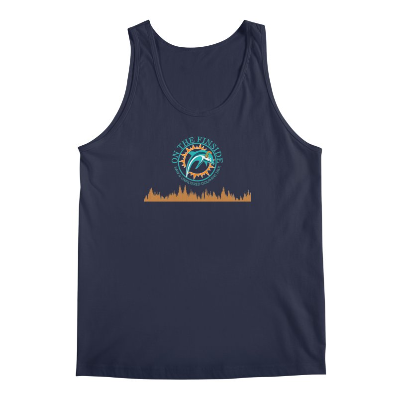 Fired up Fins Glow Men's Tank by On The Fin Side's Artist Shop