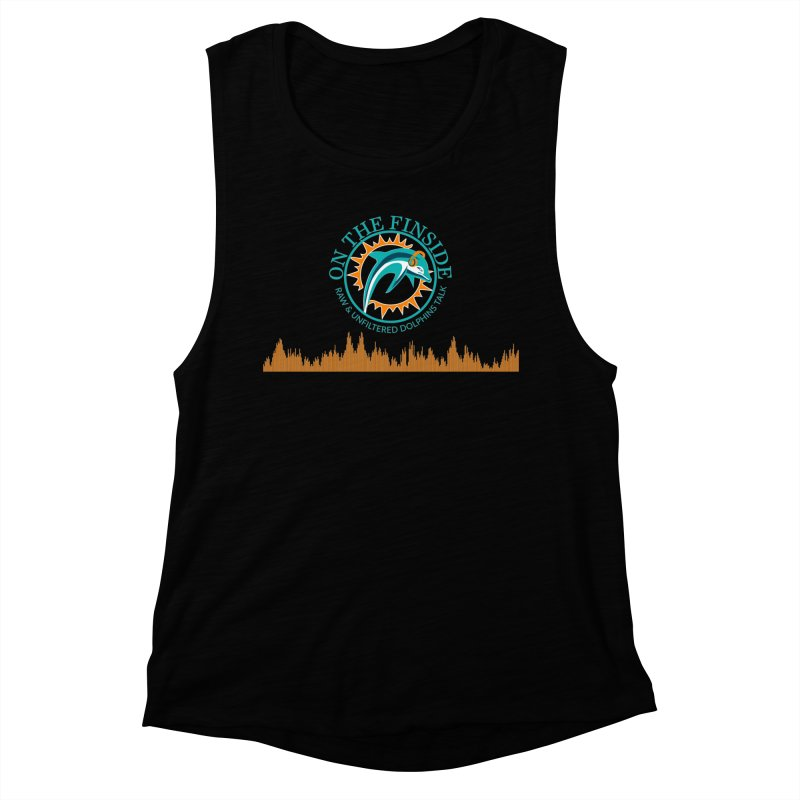 Fired up Fins Glow Women's Tank by On The Fin Side's Artist Shop