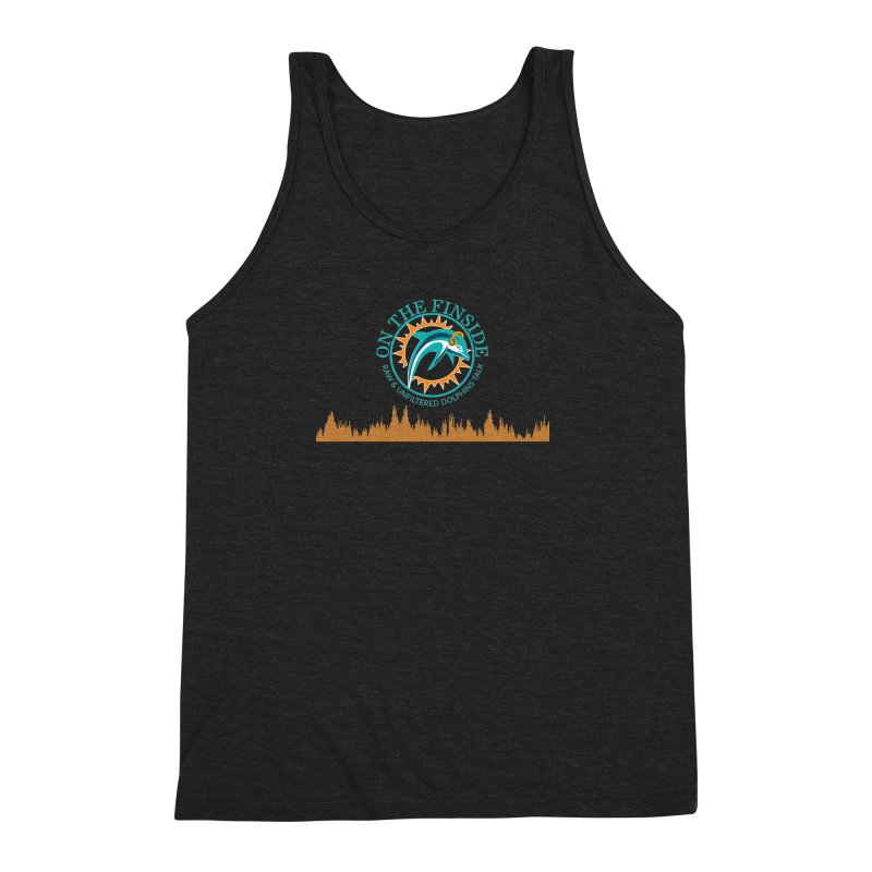 Fired up Fins Glow Men's Triblend Tank by On The Fin Side's Artist Shop