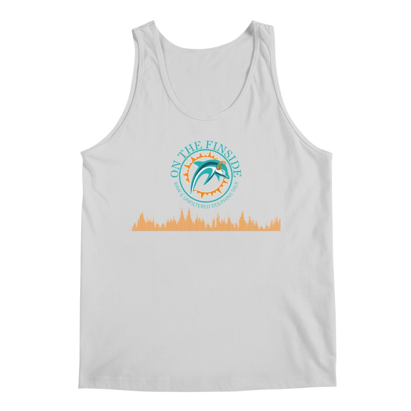 Fired up Fins Glow Men's Regular Tank by On The Fin Side's Artist Shop