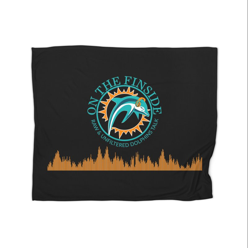 Fired up Fins Glow Home Blanket by OnTheFinSide's Artist Shop
