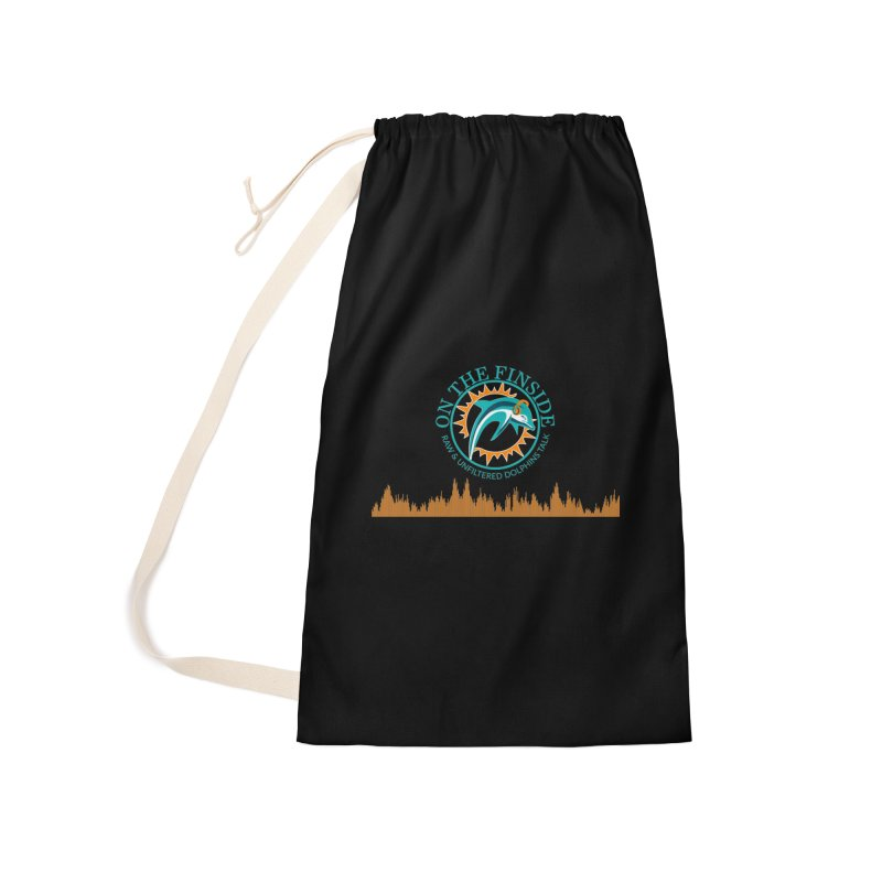 Fired up Fins Glow Accessories Laundry Bag Bag by On The Fin Side's Artist Shop