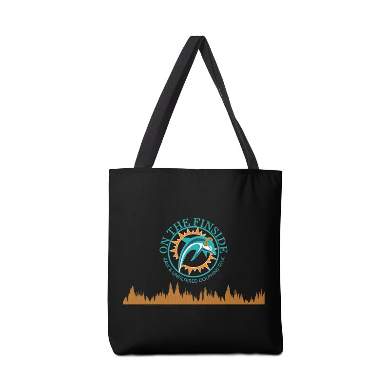 Fired up Fins Glow Accessories Bag by On The Fin Side's Artist Shop
