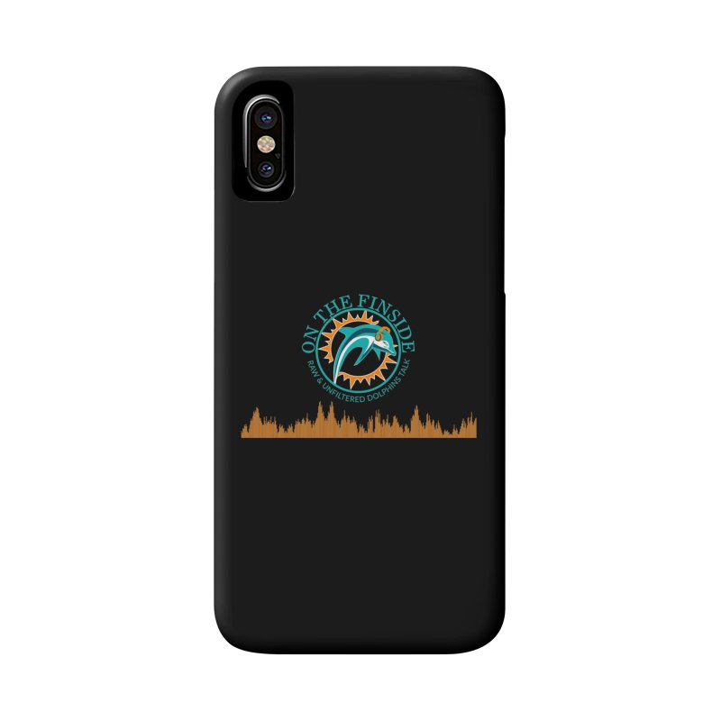 Fired up Fins Glow Accessories Phone Case by OnTheFinSide's Artist Shop