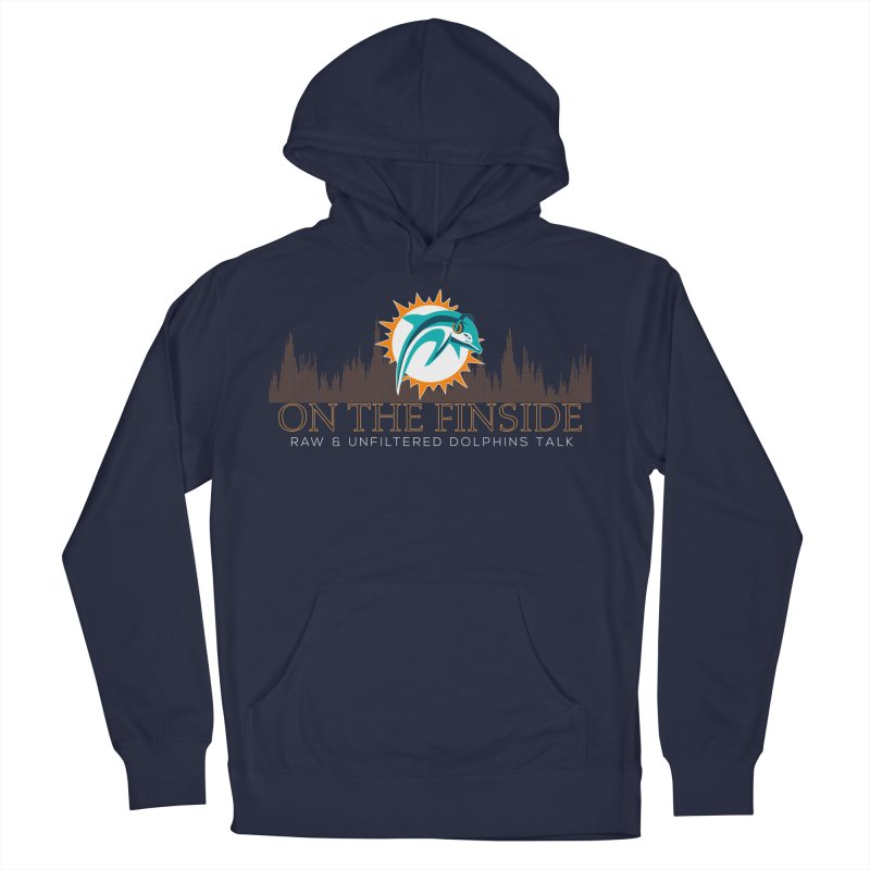 FinSide Fire Men's Pullover Hoody by On The Fin Side's Artist Shop