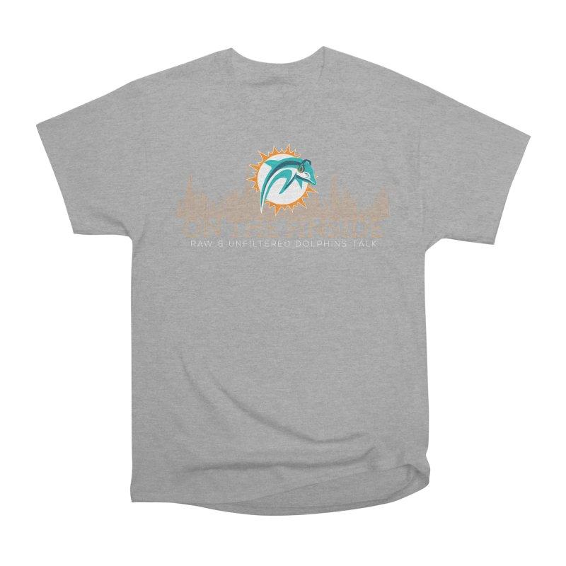 FinSide Fire Men's Heavyweight T-Shirt by On The Fin Side's Artist Shop