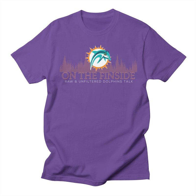 FinSide Fire Men's Regular T-Shirt by OnTheFinSide's Artist Shop